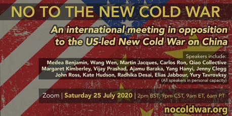 No to the Cold War International Convening