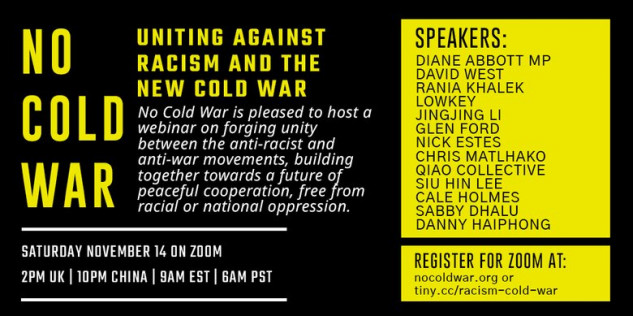 Uniting against Racism and the New Cold War