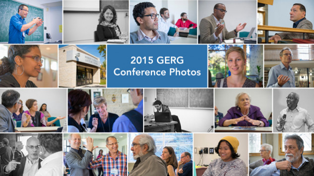 Photos from Inaugural GERG Conference